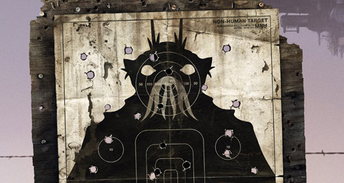 Ausschnitt aus dem Filmplakat von District 9