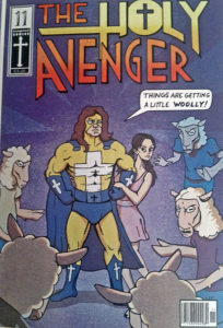"""""""The Holy Avenger""""–Comic in der Blu-Ray-Box"""